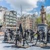 La Plaza De Rembrandt En Amsterdam 1