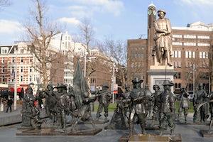 Plaza De Rembrandt En Amsterdam
