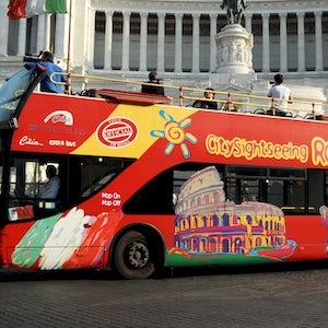 Bus Turistico Piazza Venezia