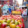 Contrastes de Nueva York en Chinatown