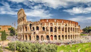 coliseo roma arco constantino