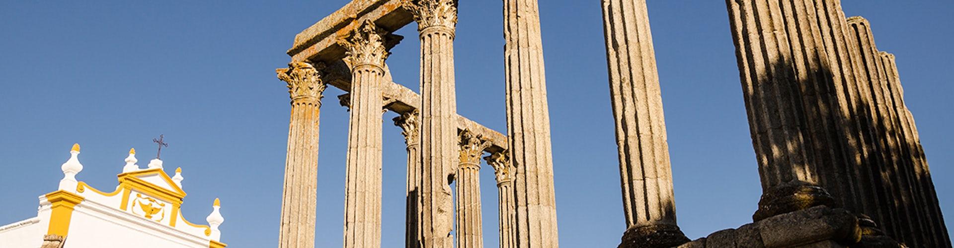 Templo Romano de de Diana en Évora
