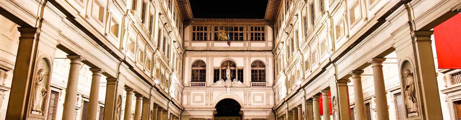 Galeria Uffizi Florencia