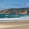 """La famosa playa de """"Guincho"""""""