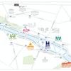 mapa paradas batobus paris