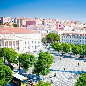 Plaza De Rossio Lisboa