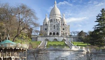 sacre coeur basilica montmartre