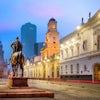 Santiago Plaza De Armas Adobestock 193840316