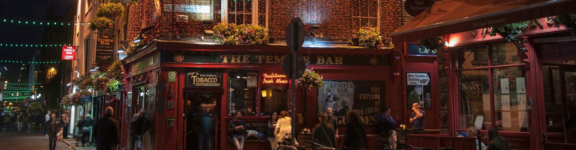 Tour Temple Bar Dublin 1