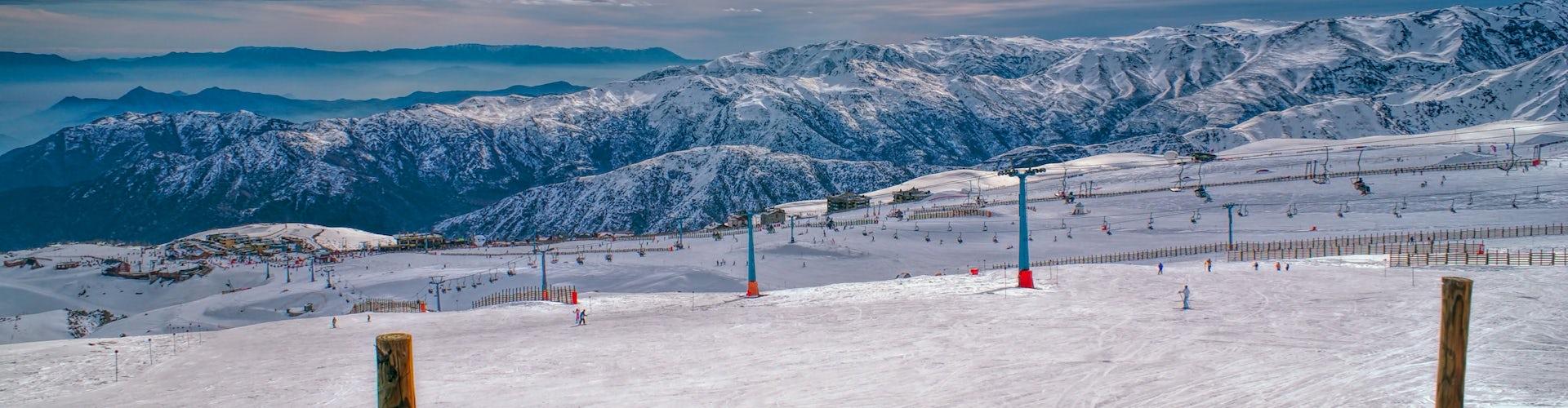 Valle Nevado Pistas Adobestock 77154966