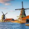 Molinos del precioso pueblo de Zaanse Schans